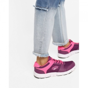 Lotto Sancia Magenta Purple Mesh Running Shoes