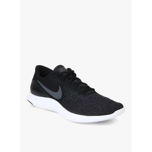 Nike Men Black FLEX CONTACT Running Shoes