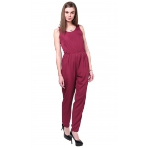 TheGudLook Kendal Open Back Tailored Jumpsuit