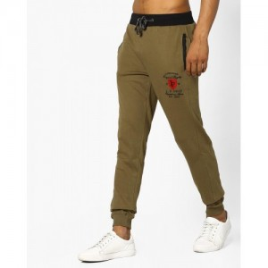 JOHN PLAYERS Slim Fit Track Pant With Contrast Waistband