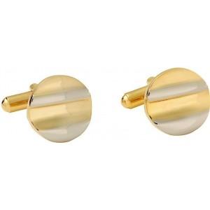 Gildermen Golden Brass Cufflinks