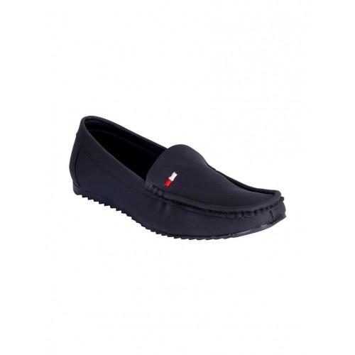 240767a6623 Buy FAUSTO black leatherette slip on loafer online