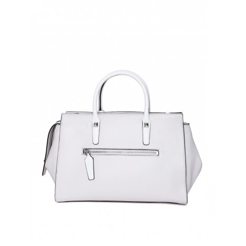 3e536c8128 Buy GUESS Off-White Solid Handheld Bag with Sling Strap online ...