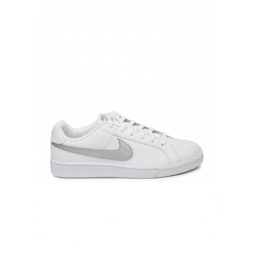 307633c8f4c Buy Nike Women White Court Royale Sneakers online | Looksgud.in