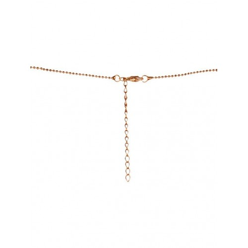 Diva Walk Diva Walk gold alloy necklace