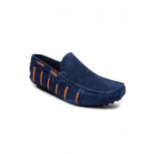 bacca bucci Men Blue Suede Casual Shoes
