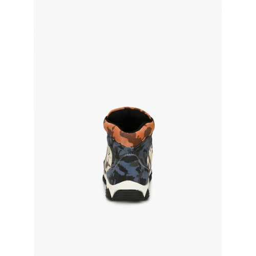 Eego Italy blue leatherette Mid Ankle boot