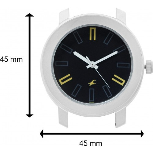 Fastrack Silver Stainless Steel Strap Watch