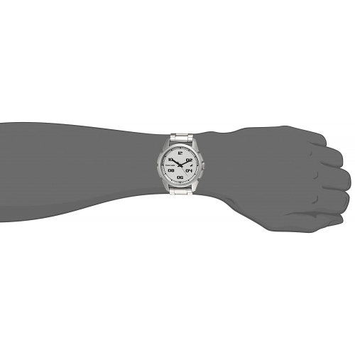 Fastrack 3124SM01 Round Metal Analog Watch