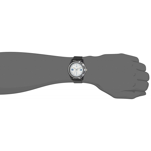 Fastrack 3114PP02 Black Round Silicone Analog Watch