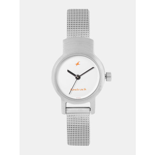 Fastrack White Analogue Watch