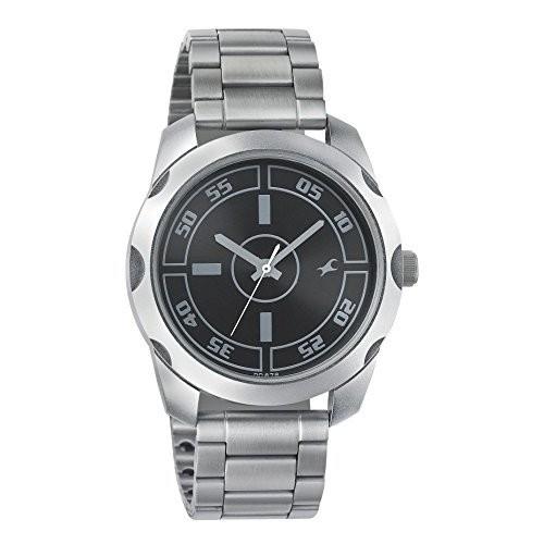 Fastrack Quartz Black Round Watch
