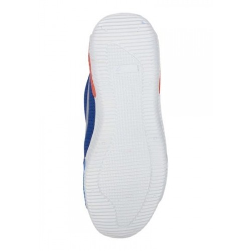 Aadi Enterprises Blue & Grey  Synthetic Lace Sports Shoes