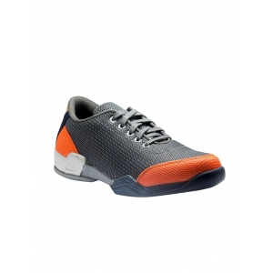 Red Rose Grey Mesh Lace Up Sports Shoes