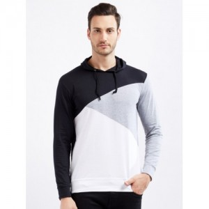 Maniac MultiColor Solid Hooded T-Shirt