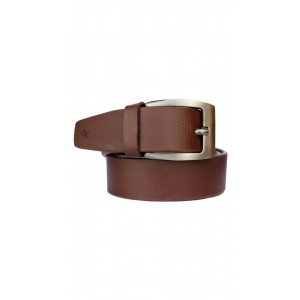 Discover Fashion Tan Artificial Leather Formal Belt