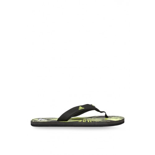 c2af8aaa0f5840 Buy Adidas Yellow And Black Printed Flip Flop online