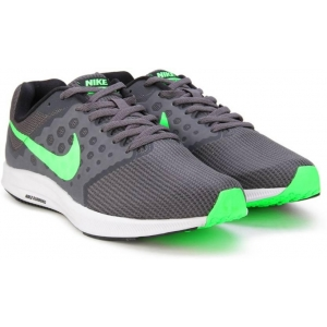 Nike DOWNSHIFTER 7 Gray Low Ankle Sports Shoes