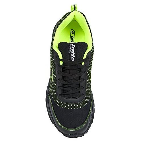 Lotto Mesh Multi Color Splash Running Shoes For Men