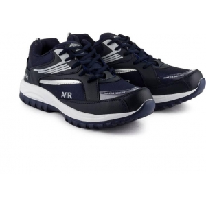 Corpus Density Navy Blue Low Ankle Sports Shoes