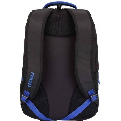 American Tourister Black Polyester Solid Laptop Backpack