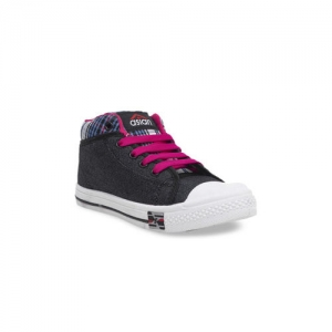 Asian Casuals Black & Pink Shoes