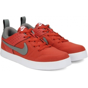 Nike Red Mesh Lace Up Sneakers