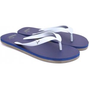 Puma Blue Synthetic Slip-On Casual Flip Flops