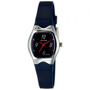 Sonata Blue Tonneau Analog Watch - NH8989PP04CJ