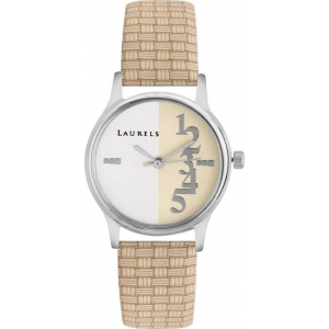 Laurels Lo-Orc-102 Orchid Analog Watch For Women
