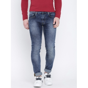 United Colors of Benetton Men Blue Slim Stretchable Jeans