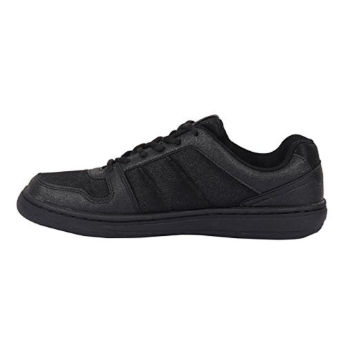 Lotto Men's Black Low Ankle Sneakers