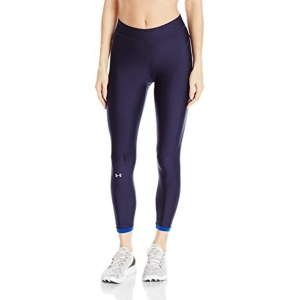 Under Armour Navy Blue Polyester Elastane Sports Leggings
