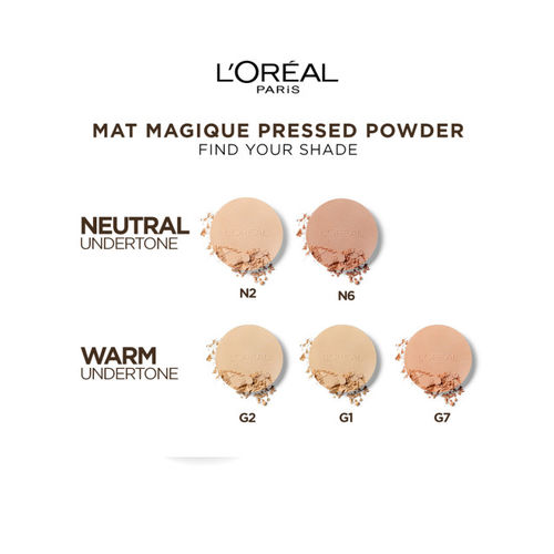 LOreal Paris Skin Color Honey Mat Magique All-In-One Matte Transforming Powder SPF 34 PA +++