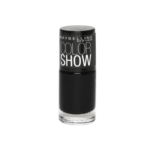 Maybelline Color Show Nail Enamel, Blackout, 6 ml