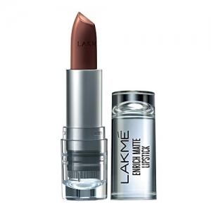 Lakme Enrich Matte Lipstick, Shade PM15, 4.7 g