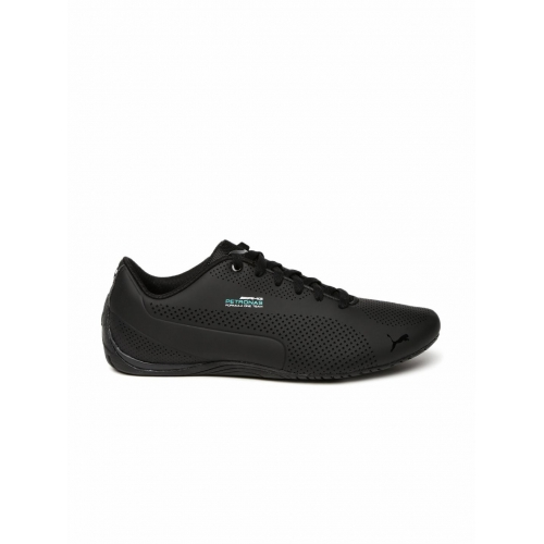 875c6ae2e6e5f1 Buy Puma Unisex Black Mercedes Drift Cat Ultra Sneakers online ...