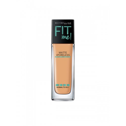 Maybelline New York Fit Me Matte + Poreless Sun Beige Foundation,115 Ivory, 30ml