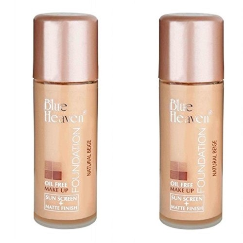 Blue Heaven Oil Free Foundation 30 Ml Combo Of 2