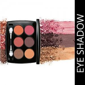 Lakme Absolute Illuminating Eye Shadow Palette, French Rose, 7.5g