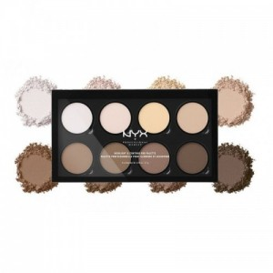 NYX Professional Makeup Highlight & Contour Pro Palette Matte Finish (21.6gm)