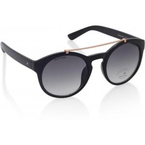 Fastrack C074BK2F Gray Aviator Sunglasses