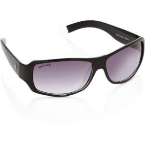 Fastrack P089BK1 Violet Wrap-around Sunglasses