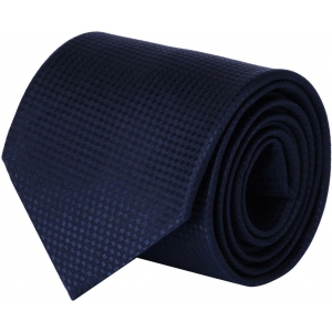 CorpWed Blue Polyester Embroidered Tie