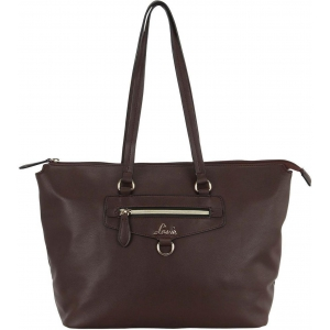 Lavie Coffee Artificial Leather Tote Bag