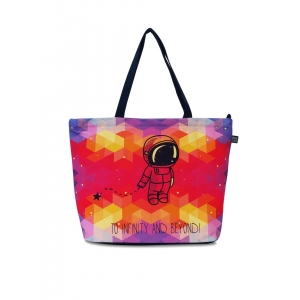 Lemon Trunk MultiColor Canvas Printed Tote Bag