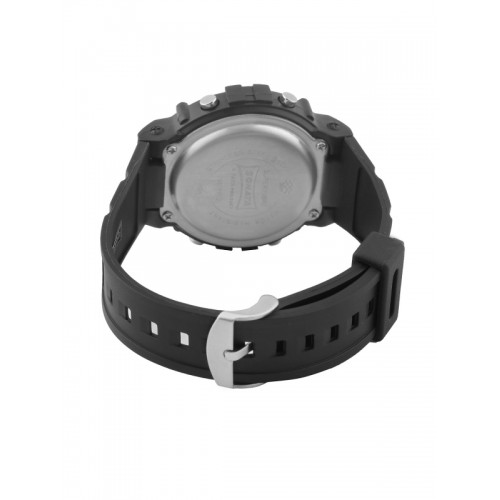 Sonata NL7982PP02 Black Fiber Round Digital Watch