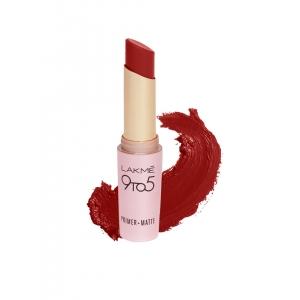 Lakme 9 to 5 Primer+Matte Red Coat Lipstick MR1