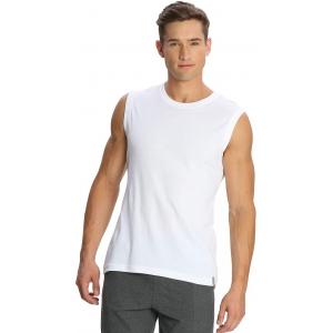 Jockey Solid White Cotton Men's Vest