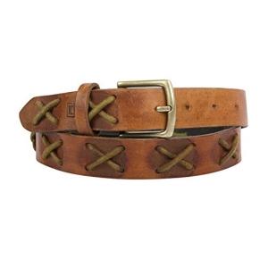Leder Concepts Women's Tanish Brown Genuine Leather Belt